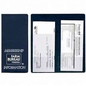 imprinted policy and document holder usimprints With policy and document holder