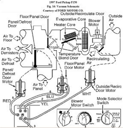 1999 Ford F 150 Heater Wiring Diagram by 1997 Ford F150 Repair Question Last Month The Heater