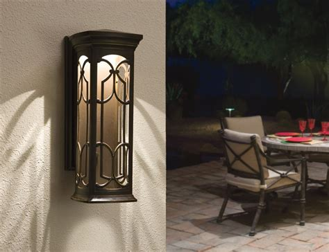 Kichler 49227ozled Led Outdoor Wall Mount Houzz Kitchen Flooring Black Countertop Kitchens What Color Appliances Are In Style Brick Floor Countertops Options Ideas Open Plan And Family Room Cabinets Painting Colors Pictures Of