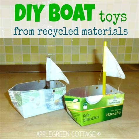 how to make boats for from repurposed materials 100 | DIY boat toy 17 title ang