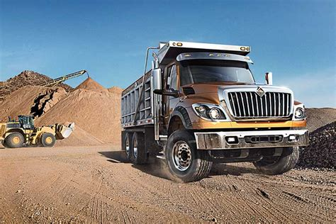 Dump Truck by Dump Trucks International 174 Trucks