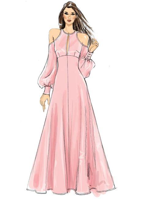 sewdirect dress design drawing fashion