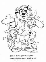 Zoo Coloring Pages Suzy Grandpa Sheet Colouring Suzys Bear Sheets Homer Printable Bears Popular Cinderella Clipart Hello Kitty sketch template