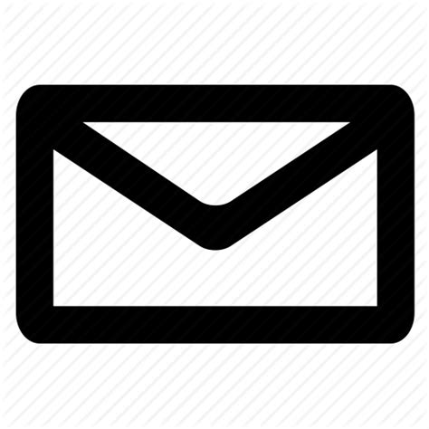 email envelope icon png iconfinder miniglyphs by the warehouse