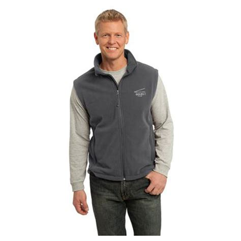 mens black fleece vest avalonbay swag store