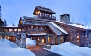 chalet house mountain chalet with elevator and ski room modern house designs