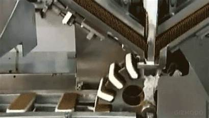 Ice Cream Factory Sandwich Machines Production Stop