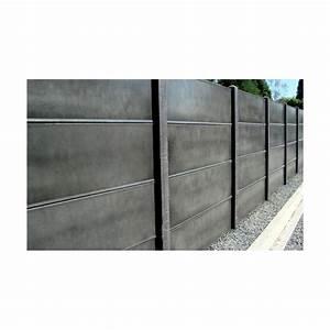 Cloture Béton Préfabriqué Tarif : plaque beton cloture plaque beton longueur m hauteur ~ Edinachiropracticcenter.com Idées de Décoration