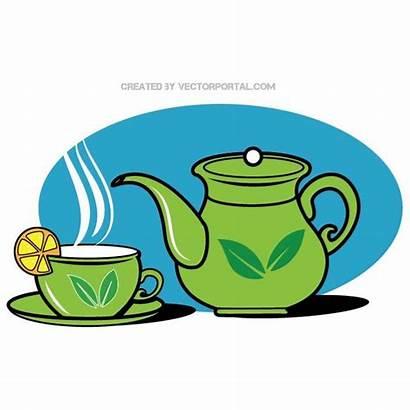 Teapot Cup Vector Tea Graphics Clip Clipart
