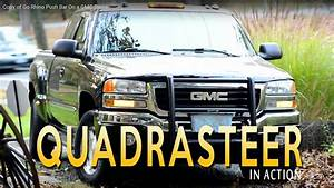 Quadrasteer In Action 2005 Gmc Sierra    4 Wheel Steering