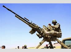 ISIS & Iraqi Forces Use 'Techincals' with AntiAircraft