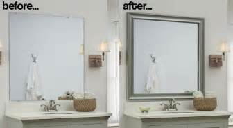 framed bathroom mirrors ideas these genius and easy diy bathroom ideas will you washing up in style frame memes