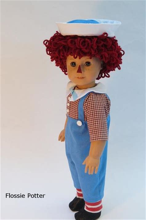 flossie potter raggedy boy doll costume doll clothes