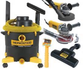 hepa certified drywall sander dealer
