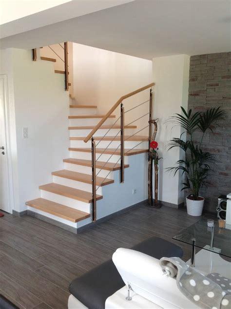 cuisines et bains magazine habillage et garde corps pour escalier béton