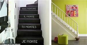 dco escalier good idee deco entree avec escalier ides With lovely idee deco de jardin exterieur 10 deco escalier zazou