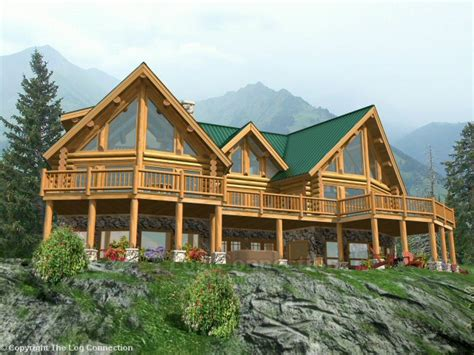 Pinecrest Log Home Design By The Log Connection