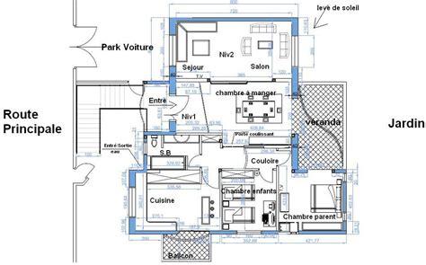 plan maison 150m2 4 chambres plan de maison de 150m2 en tunisie