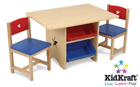 crayola wooden table and chairs set home design table with storage and chairs