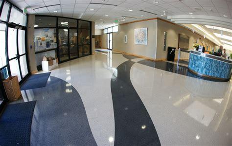 bonitz flooring charleston sc terrazzo project musc wellness center charleston south