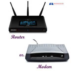 Difference Between Modem and Router