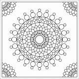 Coloring Pages Circles Fractal Crop Cards Printable Calling Dots Simple Adults Mandala Skull Deco Donteatthepaste Designlooter 1600px 88kb 1600 Paste sketch template