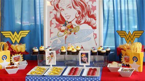 party birthday wonder woman themes theme ready parentmap trendy adorable