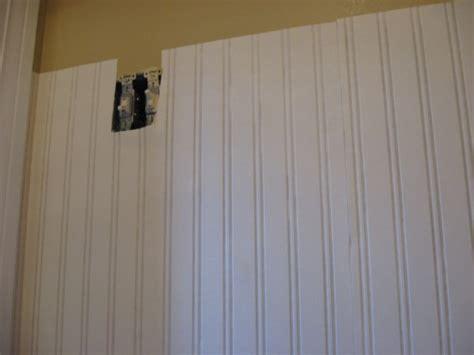 How To Install Beadboard Wallpaper : Wallpaper Wainscoting Panels