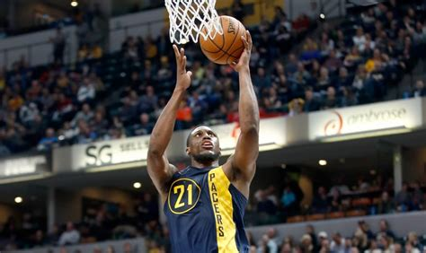 thaddeus young exercises player option hoops rumors