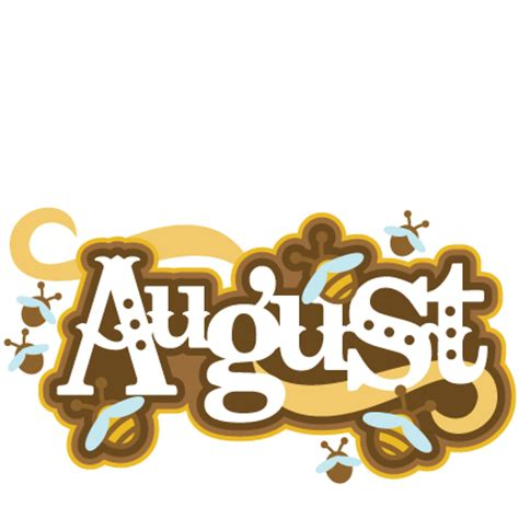 August clipart by month image 5 - WikiClipArt