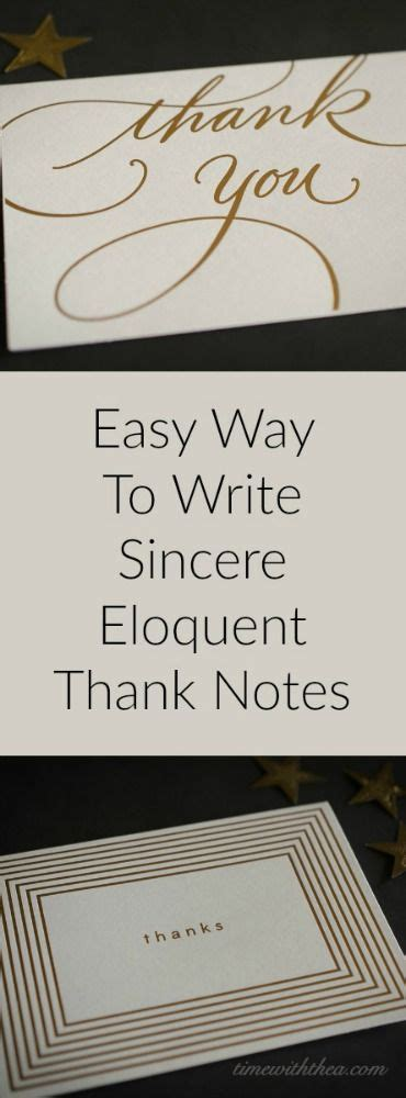 easy   write sincere eloquent   notes