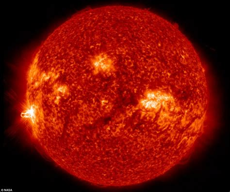 what does sun sun emits its strongest solar flare of 2014 releasing radiation into space at 4 4m mph daily