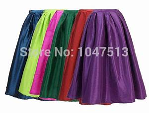 Free shipping long toto skirts neon color vintage