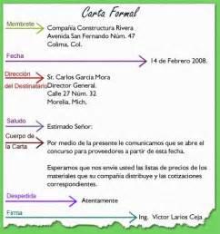 formal letter in spanish