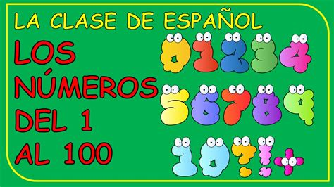Numbers From 1 To 100 In Spanish  Los Números Del 1 Al