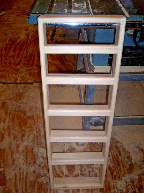 Pine Spice Rack by 6 Shelf 12 X 36 Solid Pine Wood Spice Rack Wall Mount