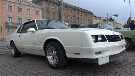 1987 monte carlo ss rims 1987 chevrolet monte carlo ss wheel spin and v8 sound