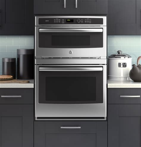 ge modernizes  microwavewall oven combination