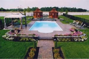 Landscape design ideas landscape design around pools for Landscape design around pool