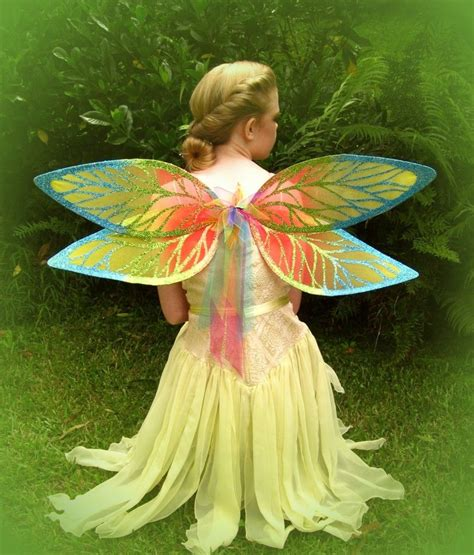 fairy wings rainbow dragonfly wings atmollie wolfe