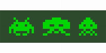 Space Invaders Pixel Vector Galaxian Arcade Gaming