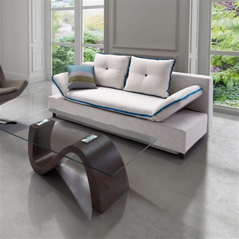 Modern Leather Sleeper Sofa modern leather sleeper sofa gray color modern sleeper sofa