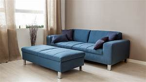 Canapé D Angle Bleu Pétrole : dalani divano blu il colore del mare nel soggiorno ~ Teatrodelosmanantiales.com Idées de Décoration