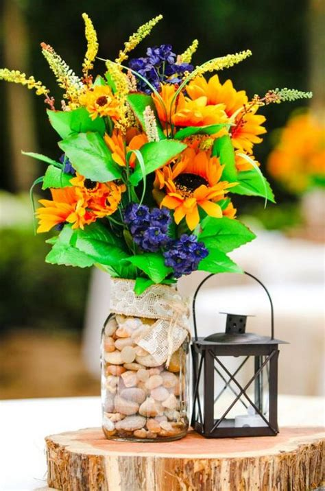 country rustic wedding centerpiece ideas page