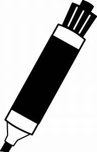 Black Dry Erase Marker Clip Art at Clker.com - vector clip ...
