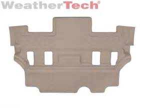 weathertech floor mats gmc 2017 weathertech floorliner floor mats for gmc yukon 2015 2017 3rd row tan ebay