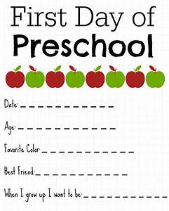 first day of school printable about me signs the shady lane With first day of school sign template