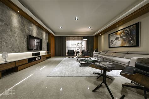 Modern Interior Design by Wood And Earthy Colour Palette Modern Apartment By