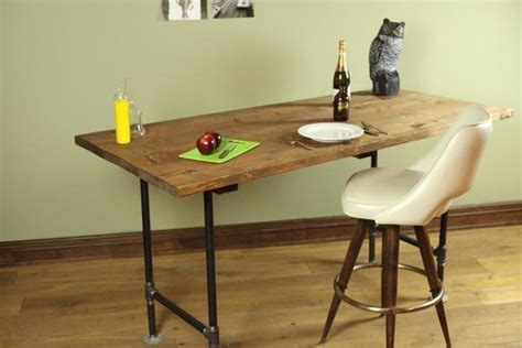 pipe desk plans diy pipe leg table diy projects craft ideas how to s for