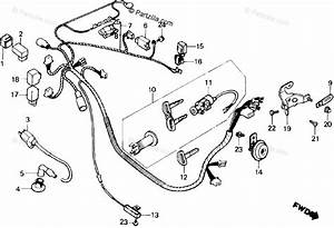 Honda Scooter 1984 Oem Parts Diagram For Wire Harness